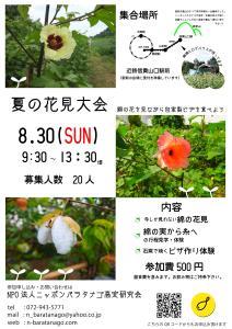 夏の花見大会ビラ_01